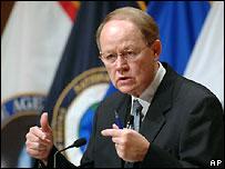 Глава национальной разведки США Майк Макконнелл