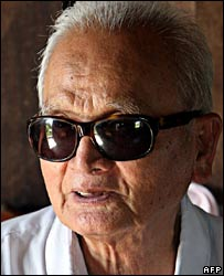 Nuon Chea on 20 July 2007