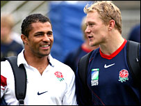 Paul Robinson and Josh Lewsey