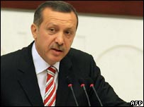 Recep Tayyip Erdogan (file photo)