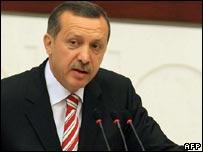 Recep Tayyip Erdogan (file photo)