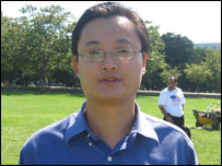 Phong Tang, a programme analyst from China in the US