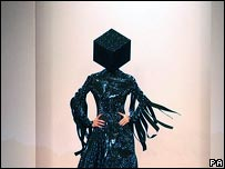 Outfit by Gareth Pugh