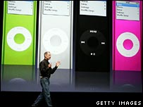Steve Jobs on stage