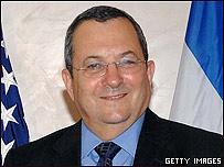 El ministro de Defensa de Israel, Ehud Barak