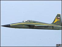 """Iranian """"Azarakhsh"""" fighter jet"""