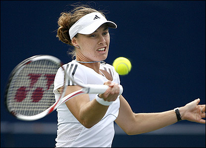 Tennis action from China