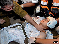 Soldier wounded in missile attack from Gaza - 11/09/2007