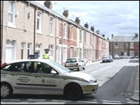 Scene of Jobson Street attack