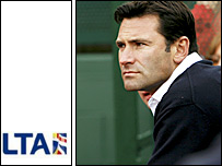 LTA chief executive Roger Draper
