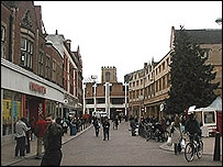 Cambridge city centre