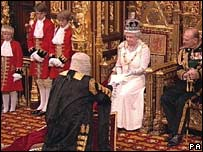 Queen opens Parliament