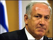 Israeli opposition leader Binyamin Netanyahu (file photo)