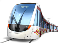 CAF tram