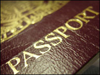 British passport, BBC