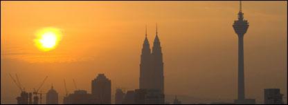 Kuala Lumpur skyline, AP