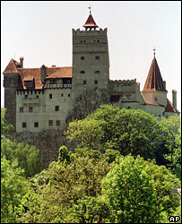 Romania's Castle Bran, pictured in 2000