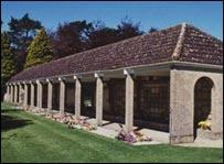Oxford Crematorium memorial plaques (Copyright Stephanie Jenkins)