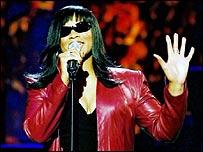 Pop singer Gabrielle