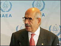 IAEA Director General, Mohamed El Baradei