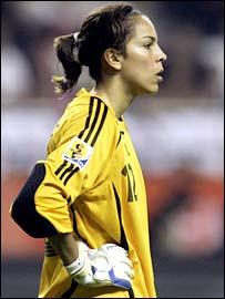 Argentina stopper Vanina Correa
