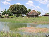 El poblado de Magoro, en el norte de Uganda