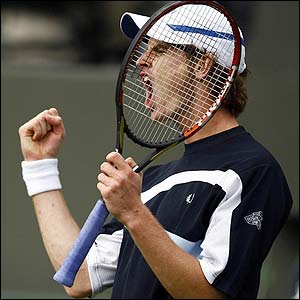 Murray celebrates
