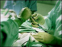 Surgery (File picture)