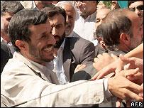 Iranian President Mahmoud Ahmadinejad - 21/09/2007