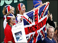 Tim Henman supporters