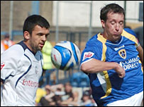 Preston's Callum Davidson and Robbie Fowler shared the goals