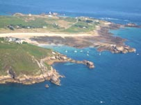 Alderney from the air