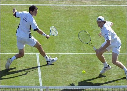 Tim Henman and Jamie Murray