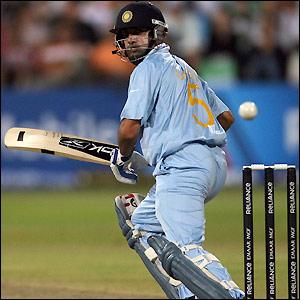 Gambhir scores 24 off 25 balls