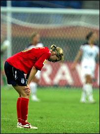 England captain Faye White