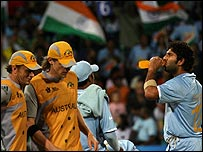 Australia had no answer to Yuvraj's extraordinary hitting