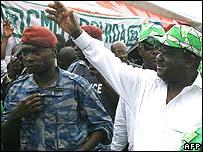 Former Ivory Coast president, Henri Konan Bedie