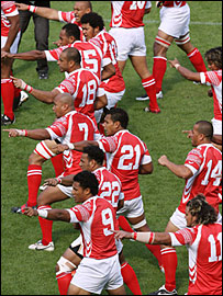 Tonga lost 30-25 to South Africa