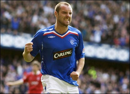 Rangers v Aberdeen: Kris Boyd relishes a late third as Aberdeen's dismal record at Ibrox continues
