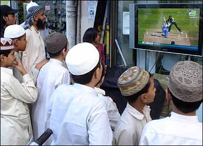 Cricket lovers across Asia were glued to the live television coverage of the thrilling final