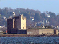 Broughty Ferry Castle (pic: Undiscovered Scotland)