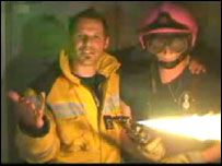 Swiss firefighter