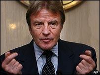 Bernard Kouchner, French Foreign Minister
