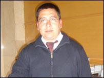 Sandro Imacache, conserje