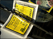 Parking ticket (generic)
