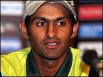Pakistan captain Shoaib Malik