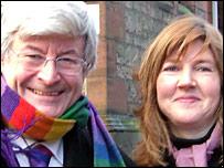 Robin Harper and Alison Johnstone