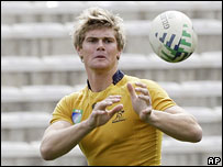 Australia's Berrick Barnes