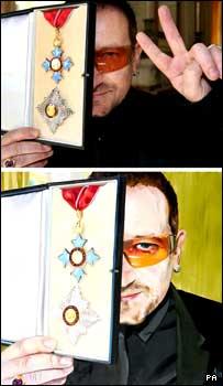 Image of Bono painting
