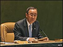 Ban Ki Moon, secretario general de Naciones Unidas